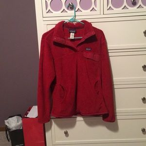 Red fleece Patagonia